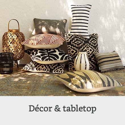 Outdoor décor & tabletop