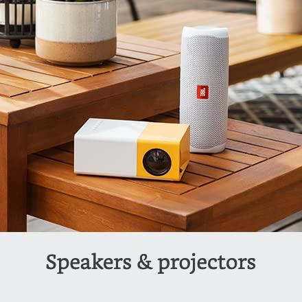 Speakers & projectors