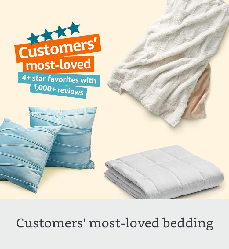 Customers' most-loved bedding