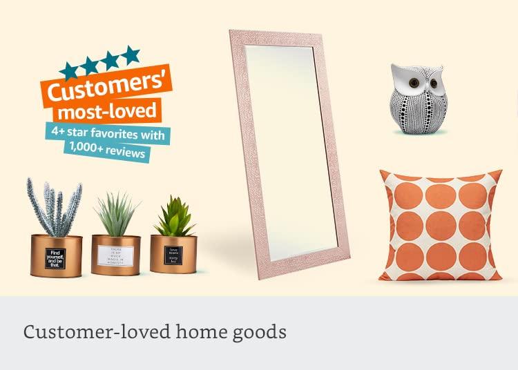 Customer-loved home goods