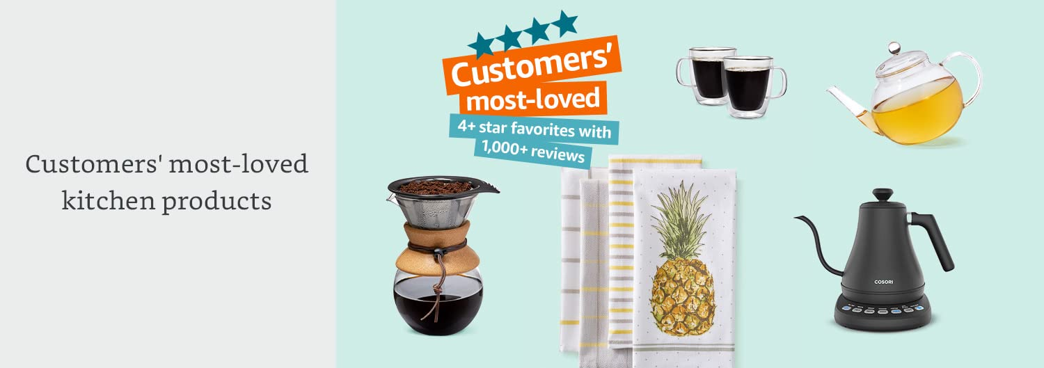 Customers' most-loved kitchen products