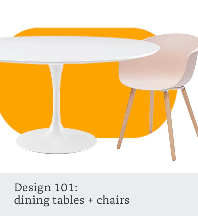 Design 101: dining tables and chairs