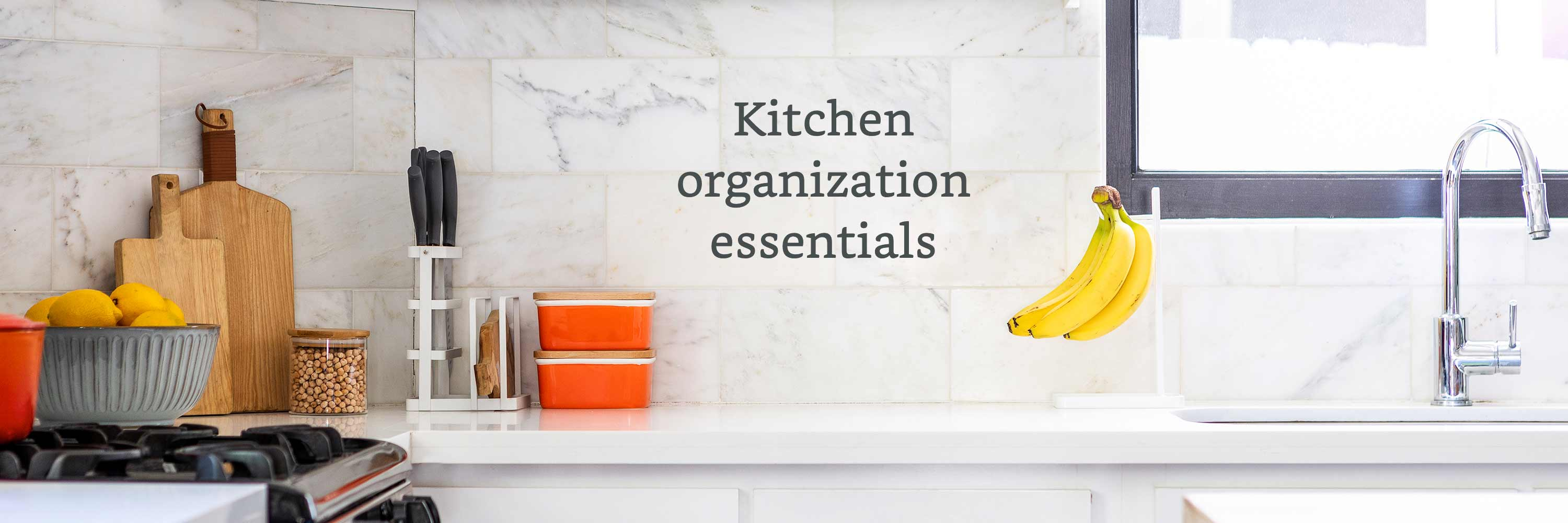Kitchen organization essentials
