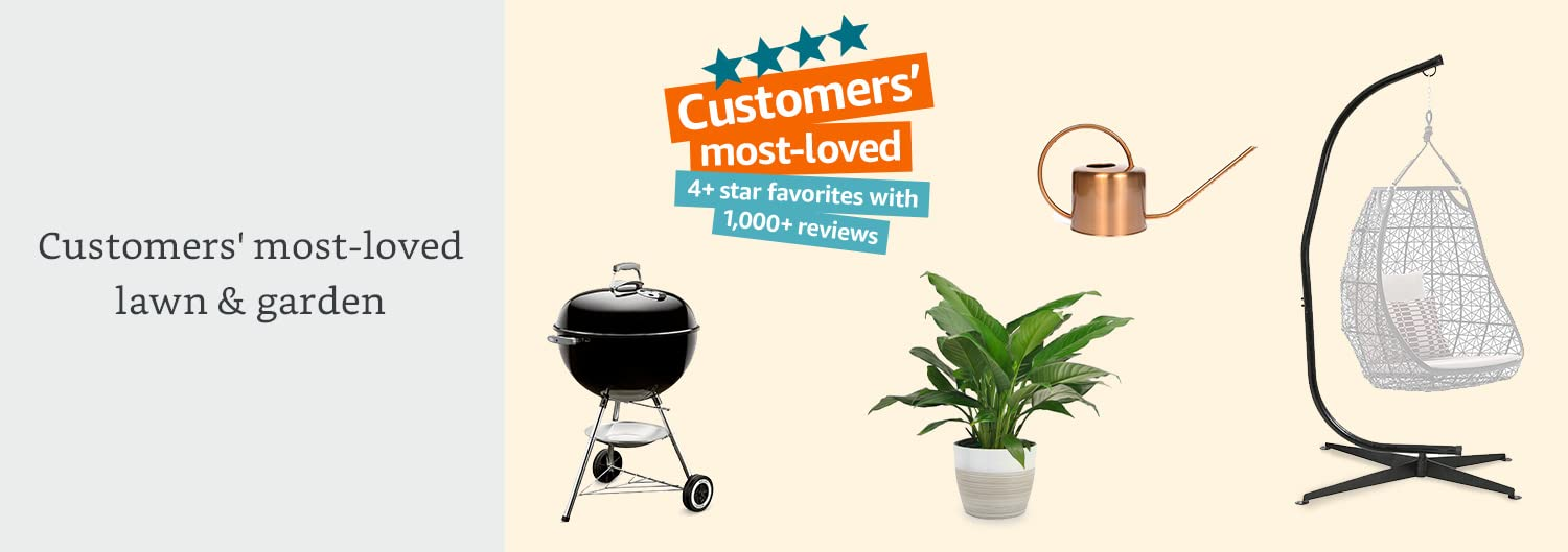 Customers' most-loved lawn & garden