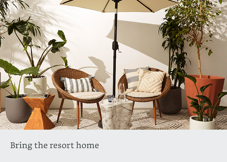 Bring the resort home