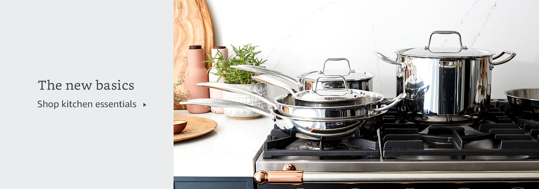 The new basics. Shop kitchen essentials.