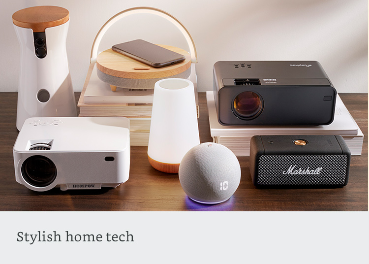 Stylish home tech
