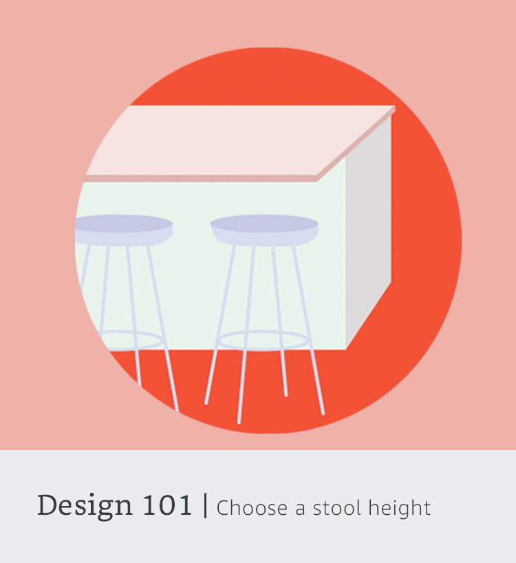 Design 101: stool height