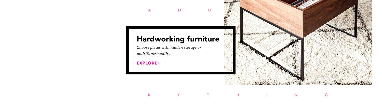 Hardworking furiture