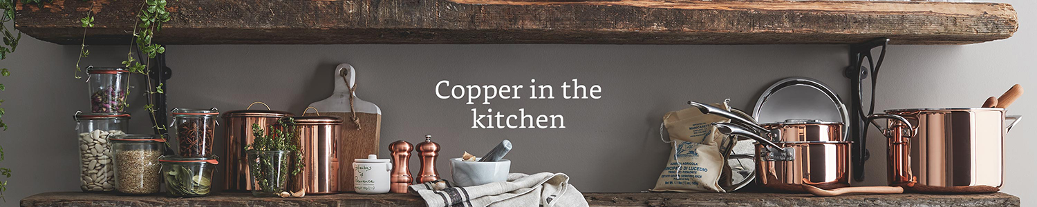 Copper in the kitchen