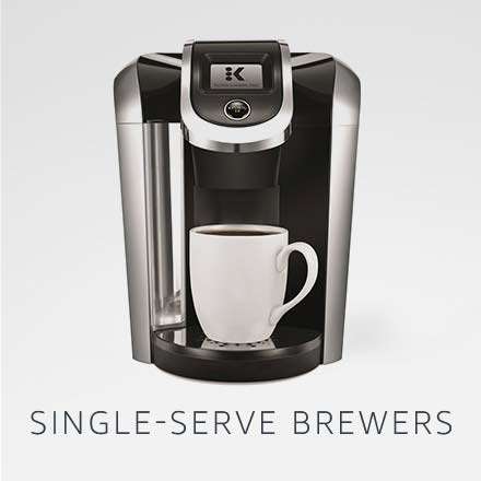 Single-serve brewers
