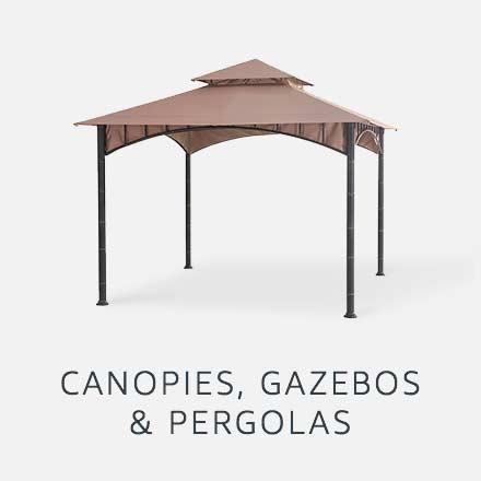 Canopies, Gazebos & Pergolas