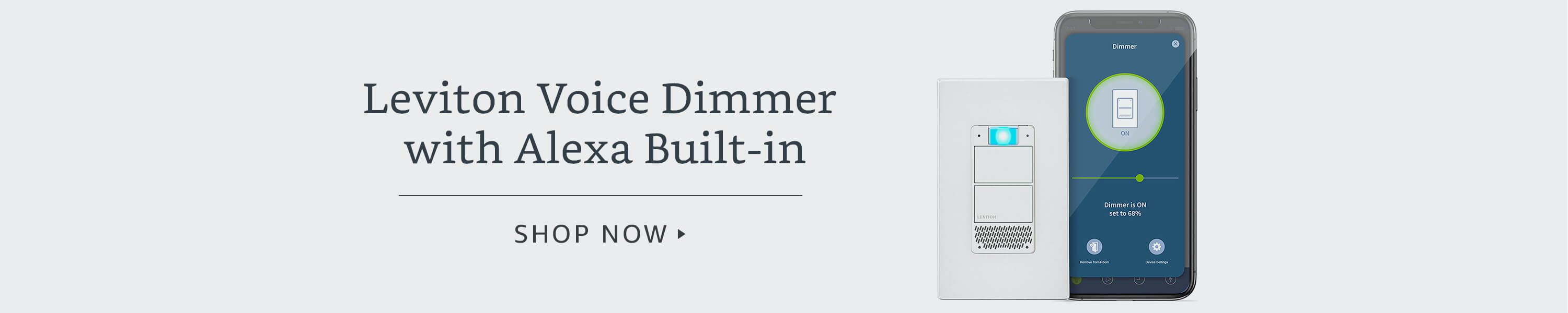 Introducing Leviton Smart Dimmers