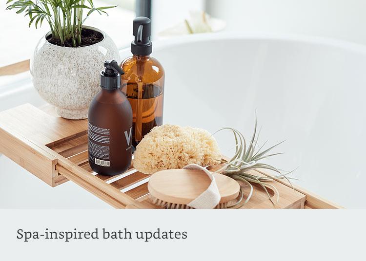 Spa-inspired bath updates
