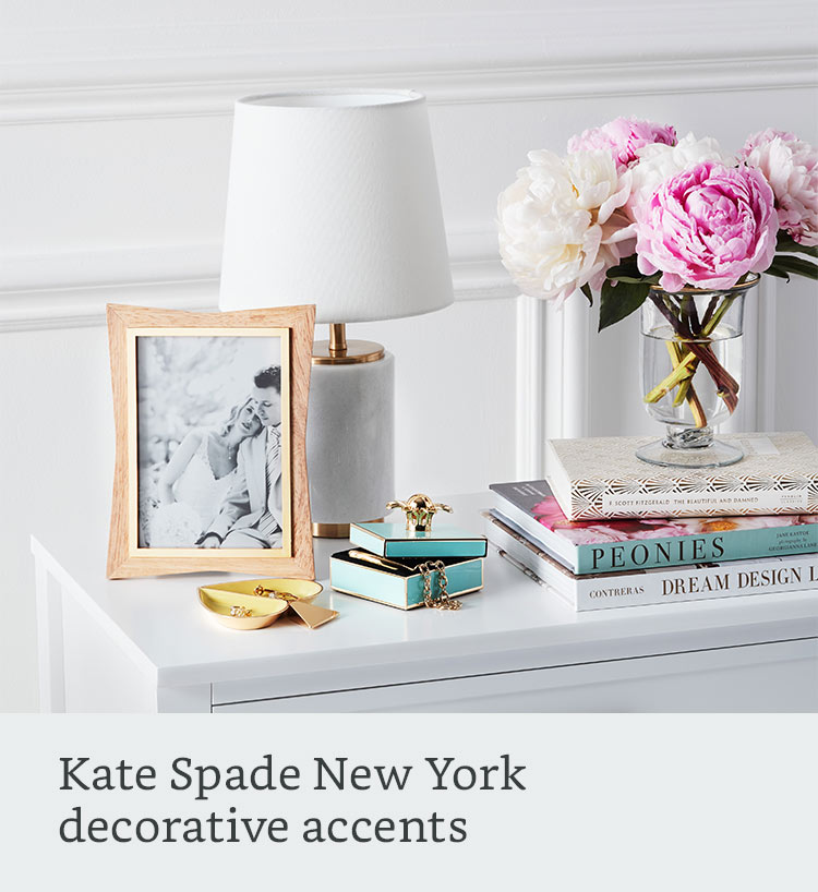 Kate Spade New York decorative accents