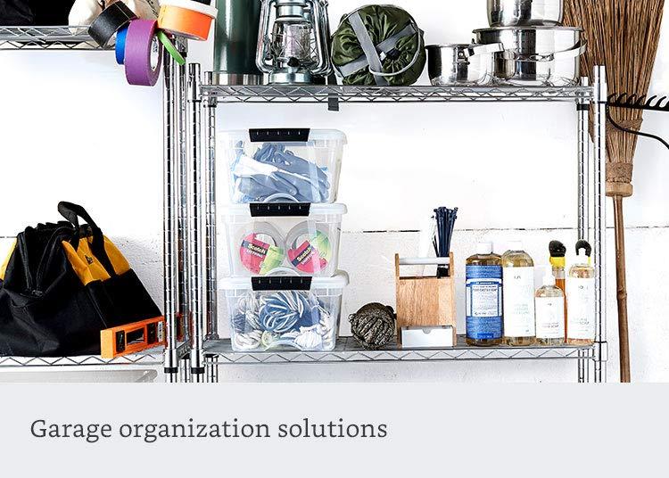 Garage organization solutions
