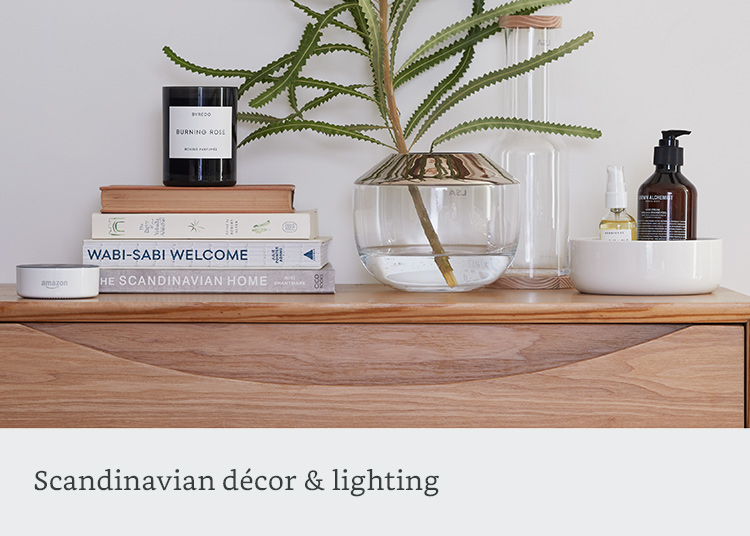 Scandinavian decor & lighting