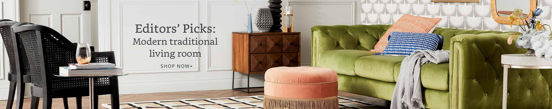 Modern traditional living room