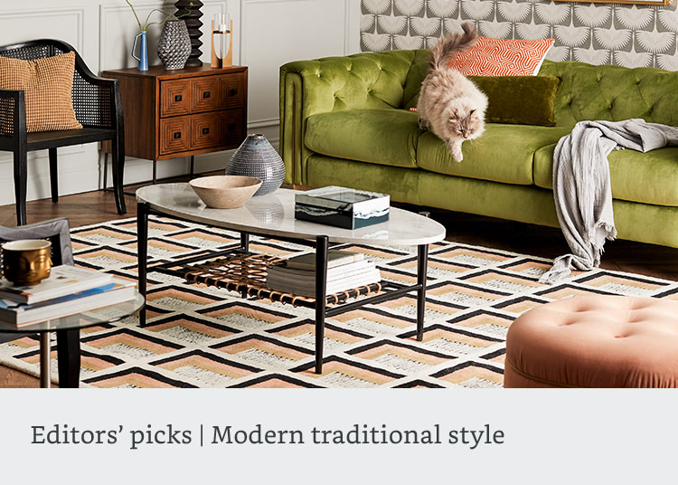 Editors' picks: modern traditional style