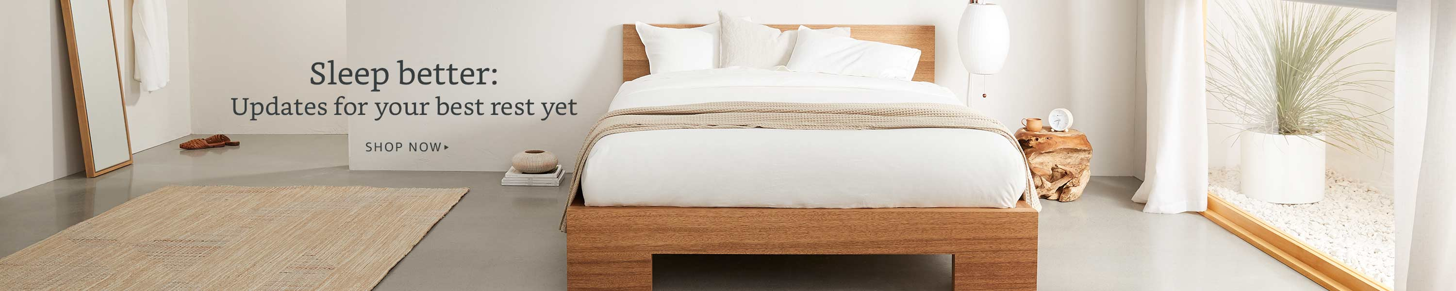 Sleep better: updates for your best rest yet