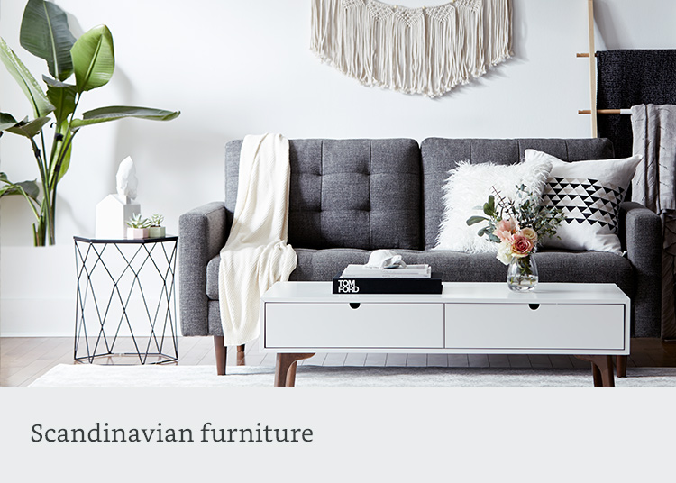 Scandinavian style furniture
