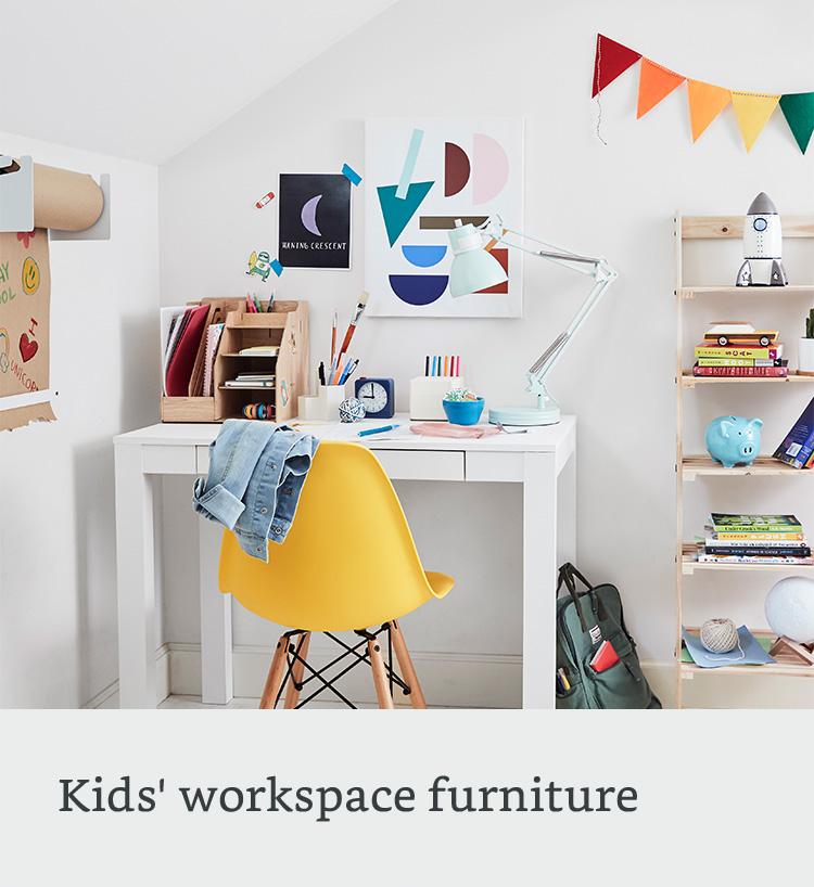 Kids workspace furniture
