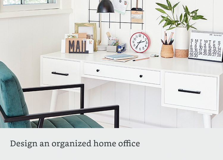 Design an organized home office