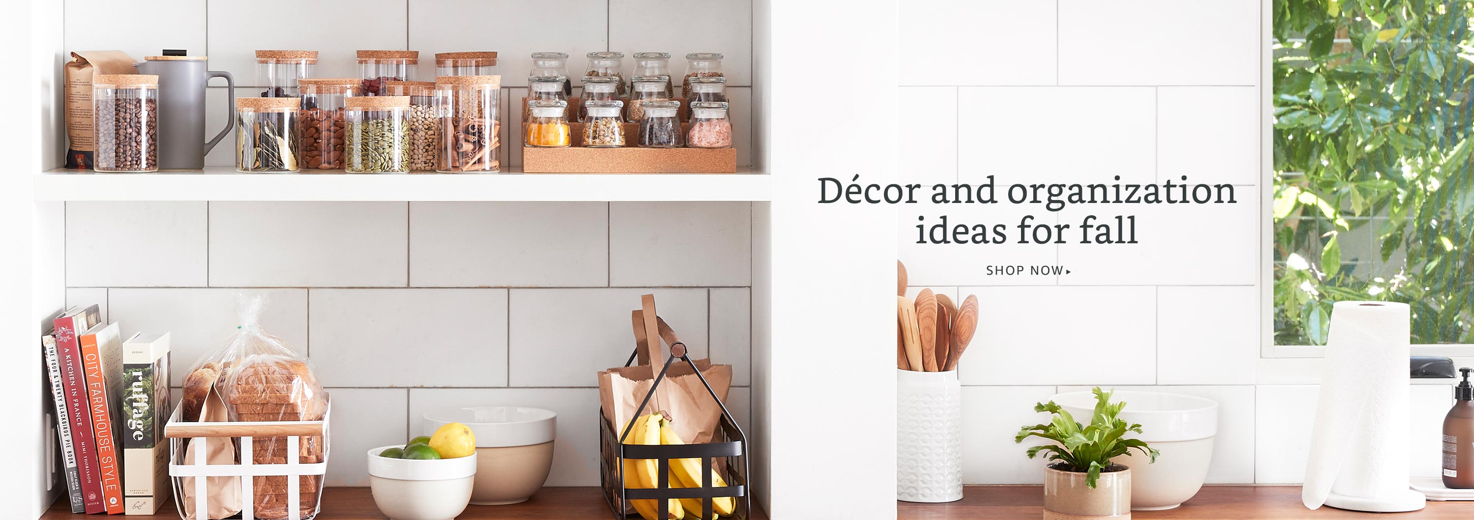 Decor and organization ideas for fall