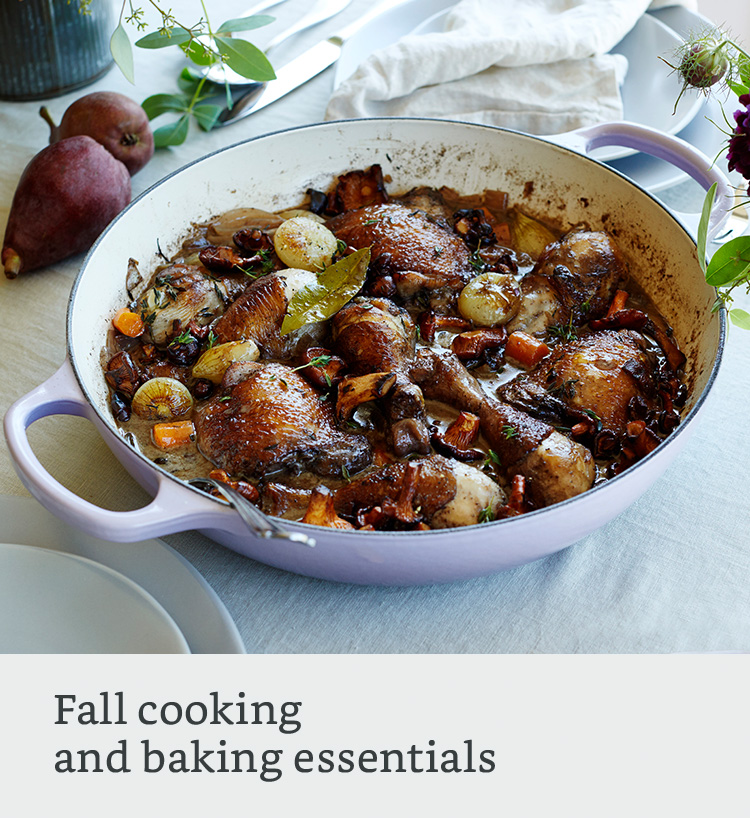 Fall cooking and baking
