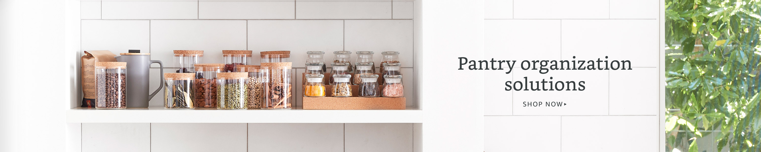 Pantry organization solutions
