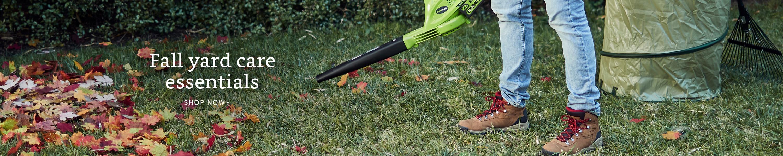 Fall yard care