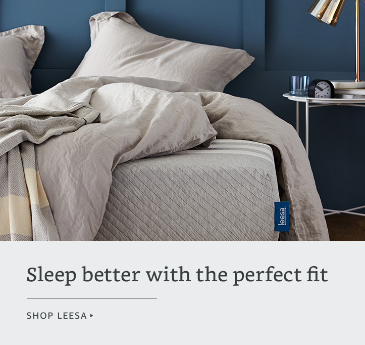 Sleep better with the perfect fit