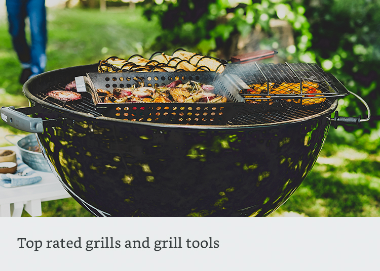 Top rated grills and grill tools