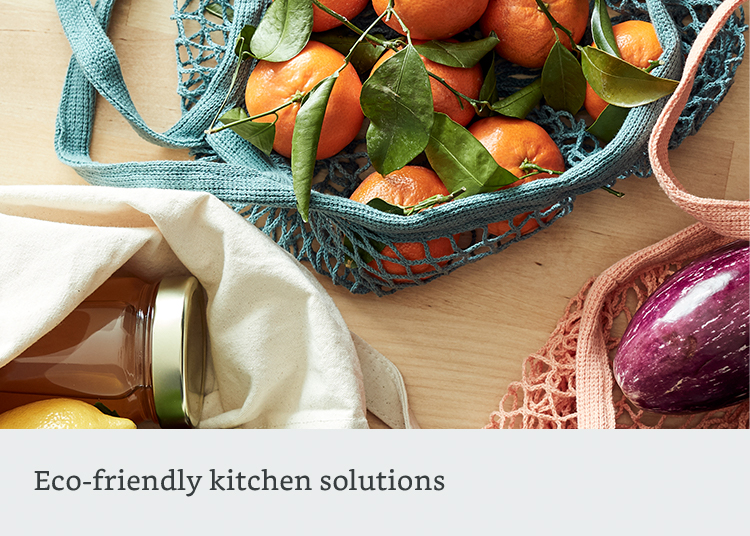 Eco-friendly kitchen solutions