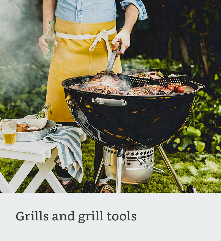 Grills and grill tools