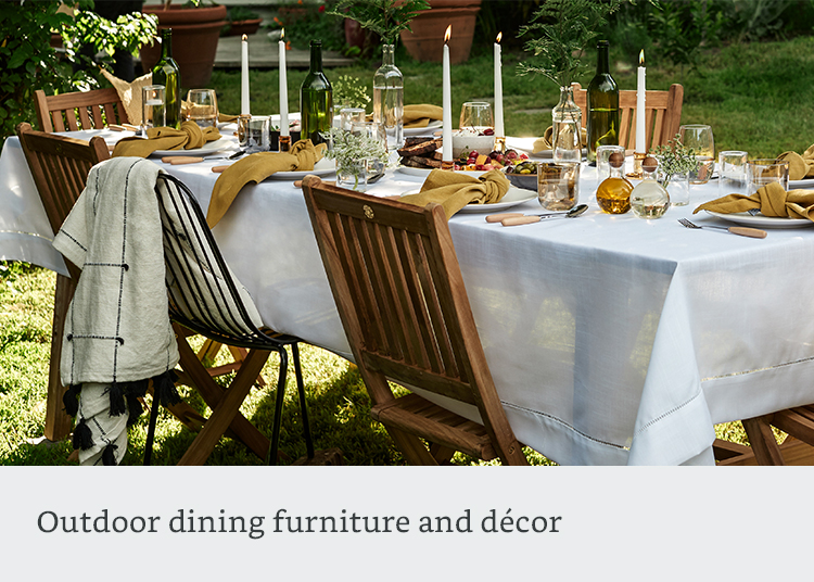 Outdoor dining furnitiure