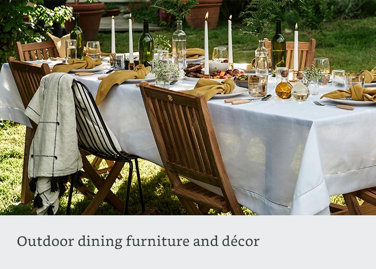 Outdoor dining furnitiure