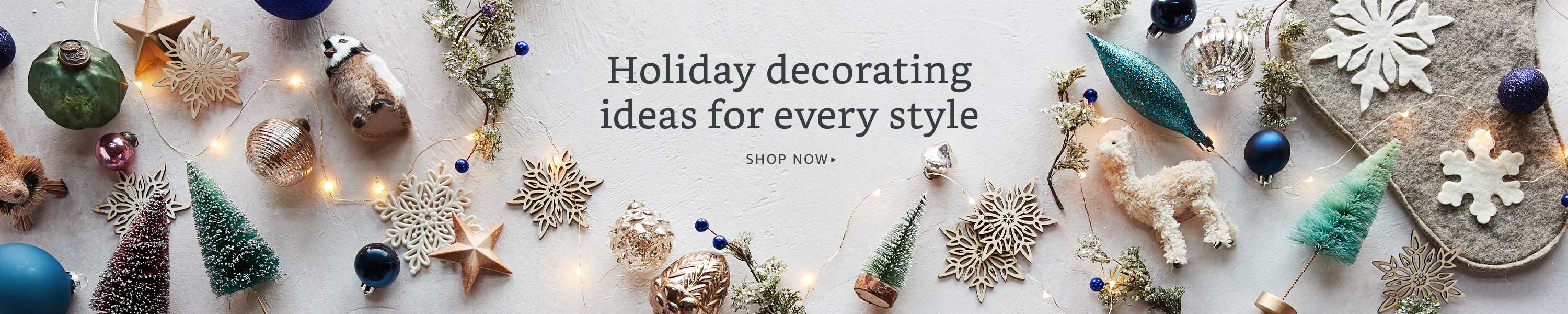 Holiday decorating ideas for every style