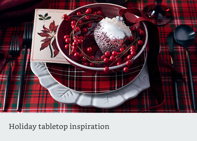 Holiday tabletop inspiration