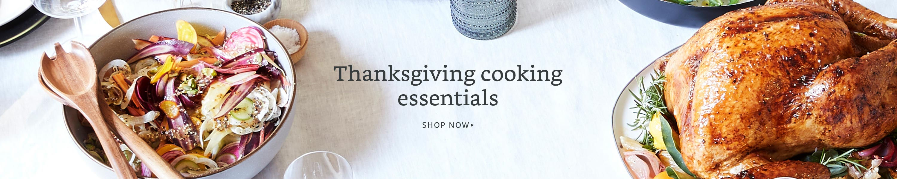 Thanksgiving ooking essentials