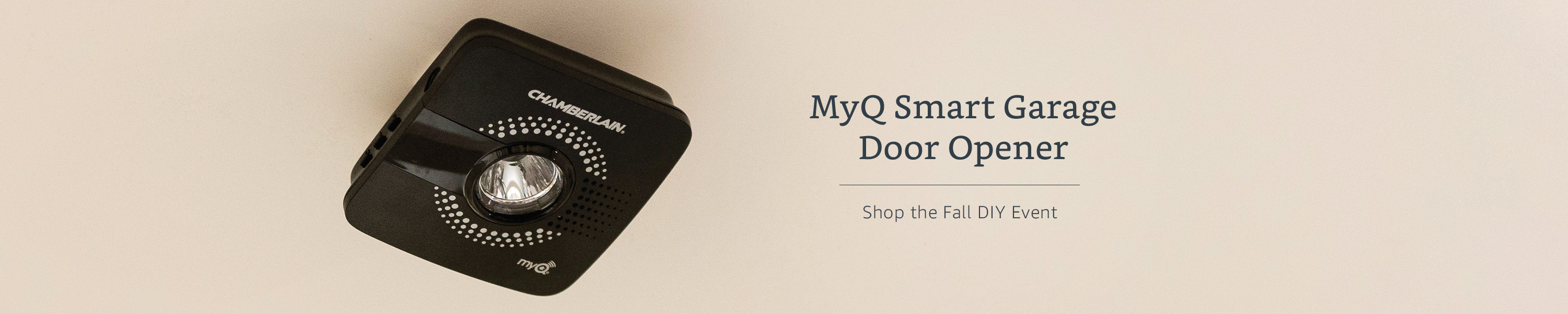 MyQ Smart Garage Opener. Shop the Fall DIY Event.