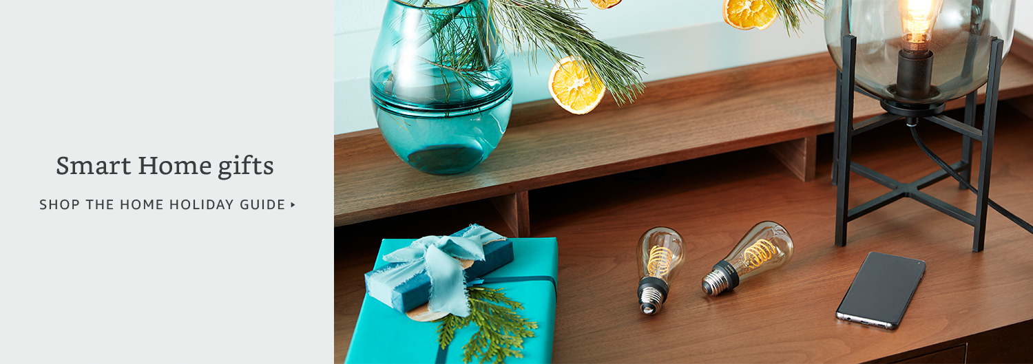Smart Home gifts. Shop the Home Holiday Guide.