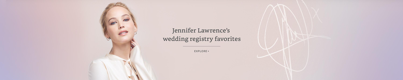 Jennifer Lawrence's Wedding Registry