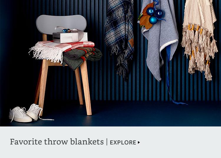 Favorite throw blankets