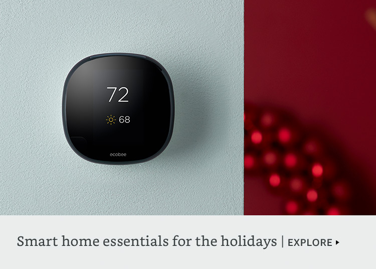 Smart Home essentials for holiday