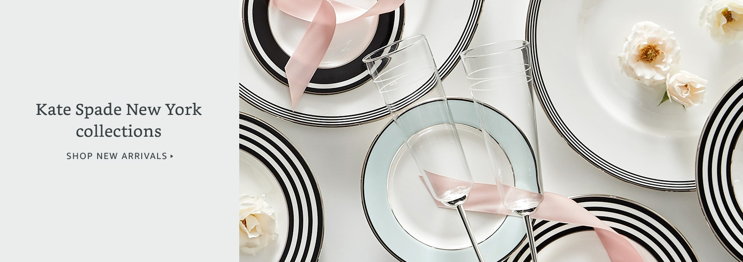 New arrivals: Kate Spade home