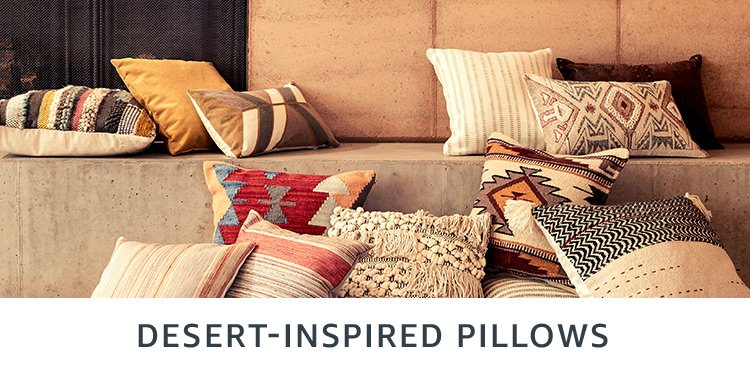 Desert-inspired pillows