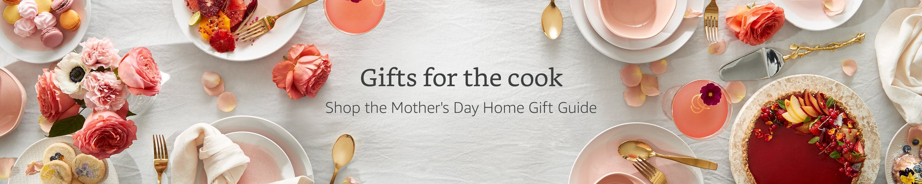 Gifts for the cook. Shop the Mother's Day Home Gift Guide.