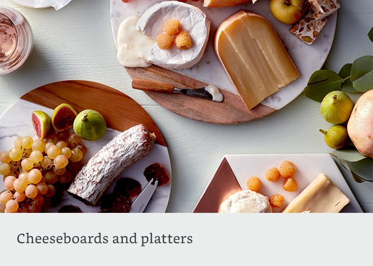 Cheeseboards and platters