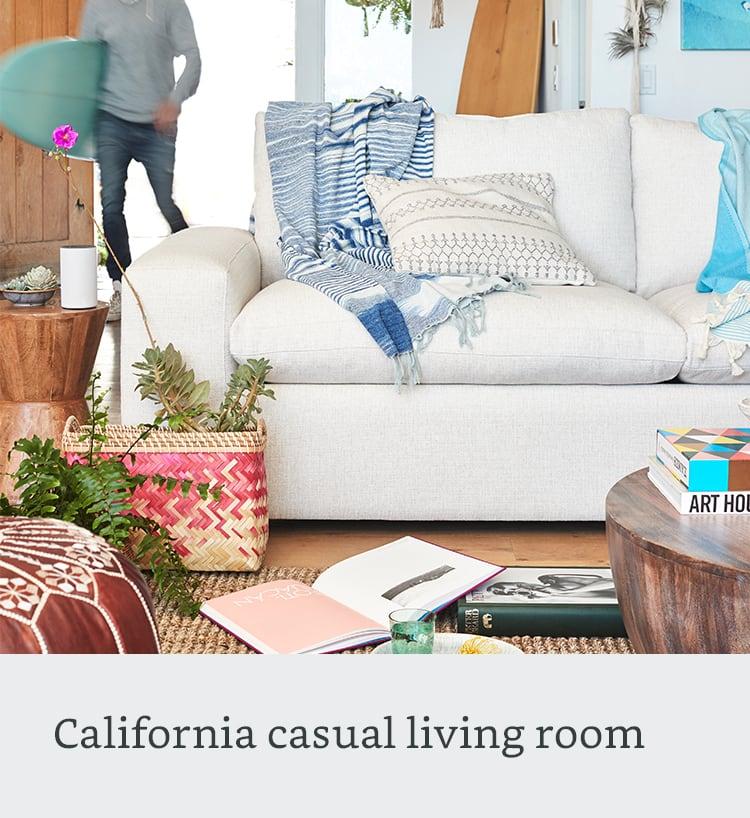 California casual living room
